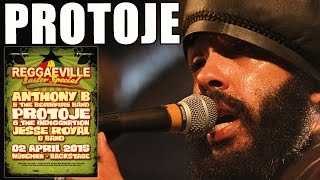 Protoje & The Indiggnation - Protection in Munich @ Reggaeville Easter Special 2015 [April 4th]