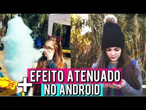 EDIÇÃO FOTO TUMBLR PARA BOMBAR NO INSTAGRAM + EFEITO ATENUADO NO ANDROID | BrunaTV #4em1