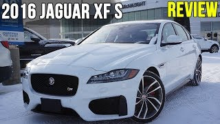 2016 Jaguar XF S (In-Depth Review)