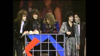 Bon Jovi Win Favorite Pop/Rock Group - AMA 1988