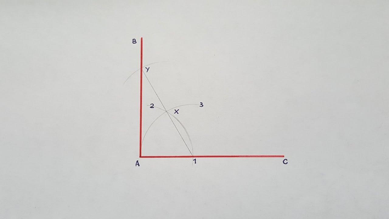 Cómo Trazar ángulos Rectos Youtube