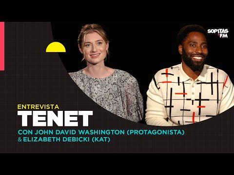 En YouTube: TENET Entrevista con John David y Elizabeth Debicki