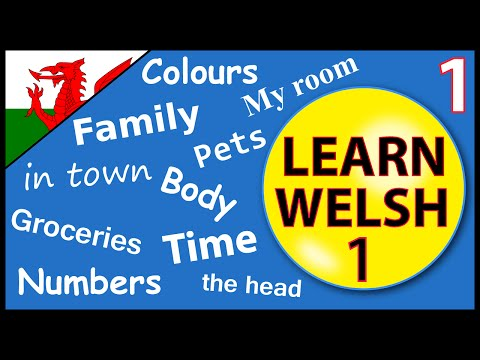 Learn Welsh for beginners:  Lesson 1
