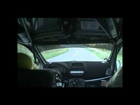 IRC Mecsek Rallye Onboard SS 6 - Orfü; M. KOGLER /...