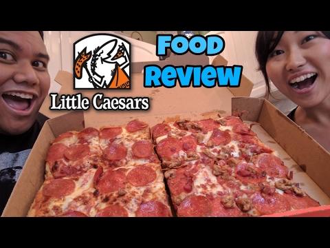 Food Review Little Caesars Half-N-Half