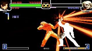 [TAS] KOF 2002 Kyo Kusanagi vs Rugal Boss