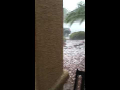 Vegas Hail Storm - 6/30/16