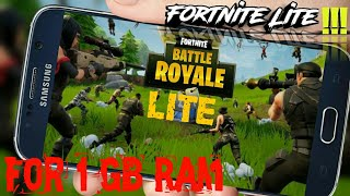 (36 mb) | How to download Fortnite Lite For 1 GB RAM | fortnite lite | Real or Fake | By InputPlay