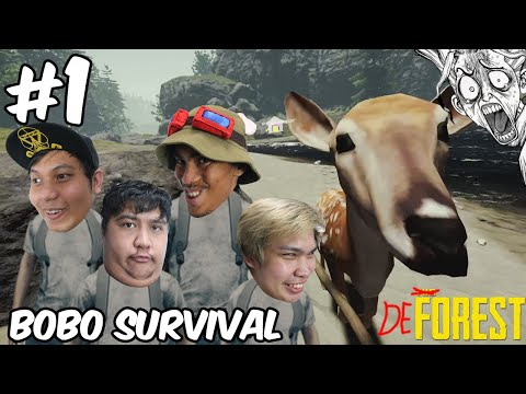 PEENOISE PLAY THE FOREST - FUNNY HORROR SURVIVAL GAME (FILIPINO) #1