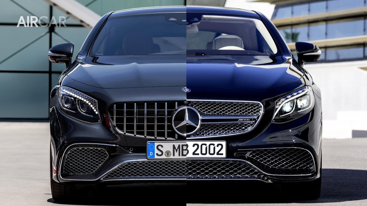old vs new mercedes s class coupe side by side comparison youtube. Black Bedroom Furniture Sets. Home Design Ideas