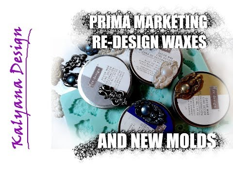 Prima Marketing new Re-design wax line and new molds review - 439