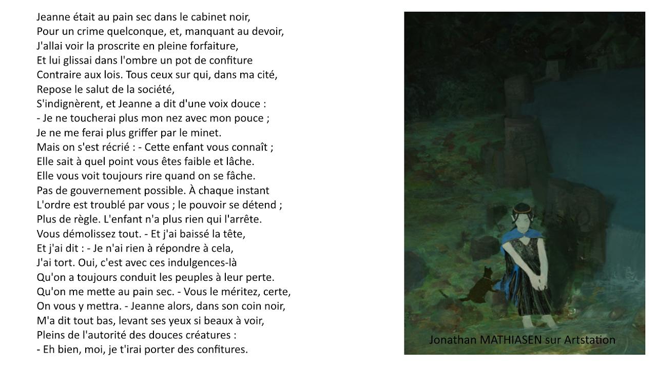 Victor Hugo Jeanne était Au Pain Sec Lart Dêtre Grand Père 1877