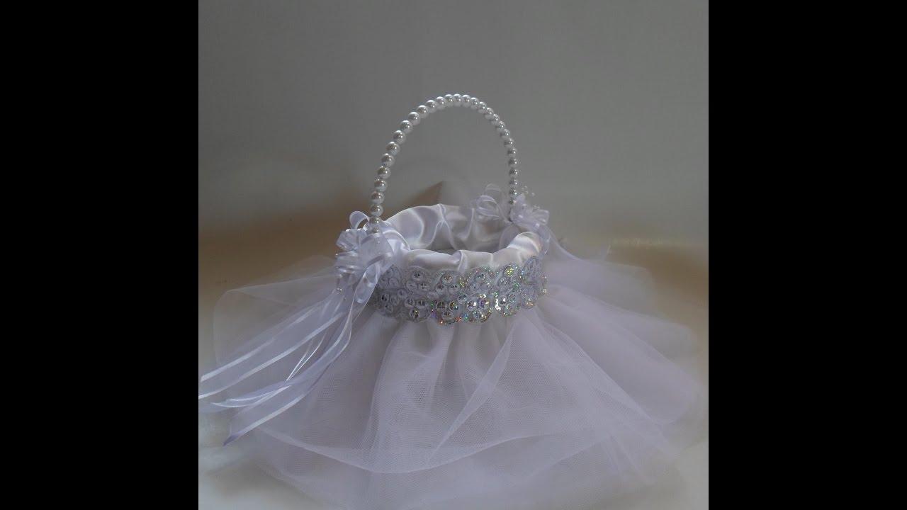Canasta para petalos youtube - Cosas para preparar una boda ...