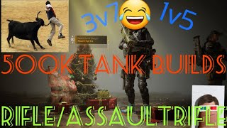 The Division 2 TU6.1 PVP //Tank Assault Rifle/Rifle Builds Are A Must Have!//  Funny Moments!