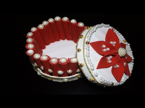 Diy Jewelry Box Easy | How to Make Jewellery Box in Easy Way | Easy Crafts for Girls