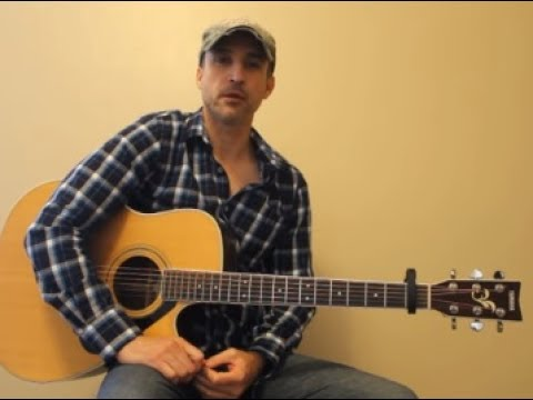 Roller Coaster - Luke Bryan - Beginner Guitar Lesson | Tutorial ...