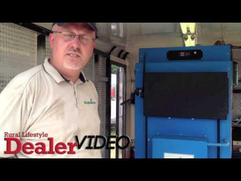 Econoburn Two Stage High Efficiency, Low Emissions Wood Gasification Boilers