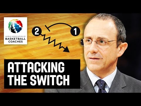 Attacking the switch - Ettore Messina - Basketball Fundamentals