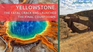 YELLOWSTONE 100ft Wide Fissure Opens in 24hrs Near Teton - MAJOR Tectonic Shift