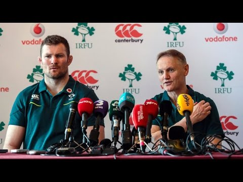 Irish Rugby TV: Ireland v France Team Announcement Press Conference