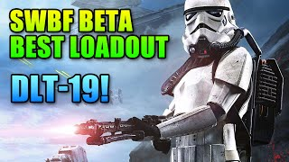Best Gun & Loadout For Star Wars Battlefront Beta | DLT-19, Jump Pack