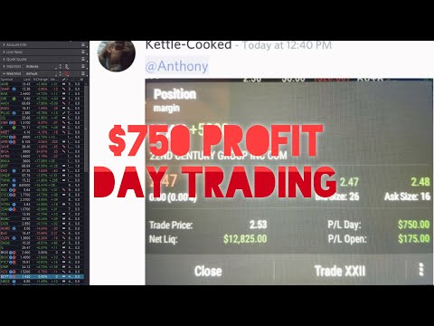 Daily Recap: Our Trader Made $750 Profit Day Trading | Stocks For Beginners
