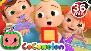 The Shapes Song + More Nursery Rhymes & Kids Songs - CoComelon