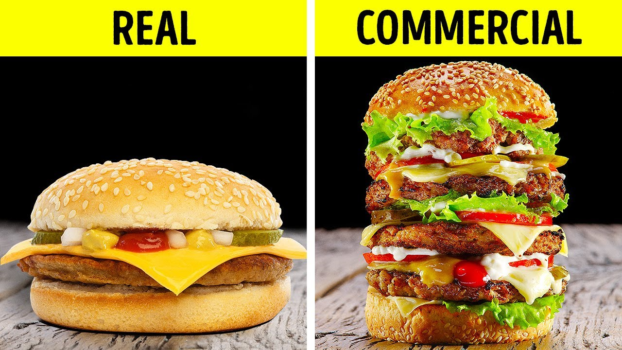 SHOCKING COMMERCIAL TRICKS WITH FOOD || Amazing Cooking Hacks
