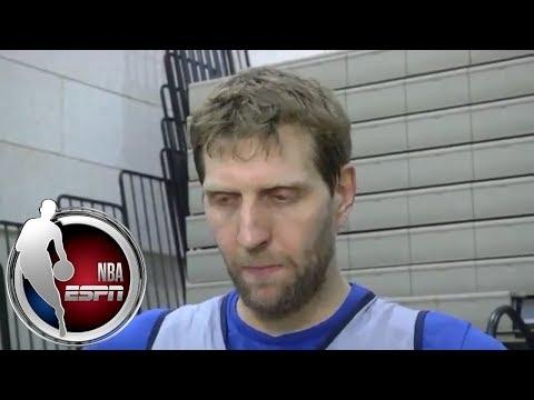 [FULL] Dirk Nowitzki addresses Dallas Mavericks controversy   NBA on ESPN