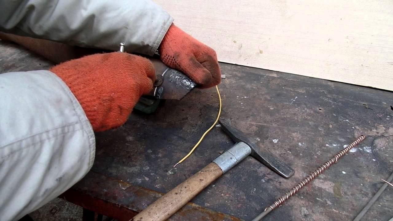 Алюминиевый электрод своими руками