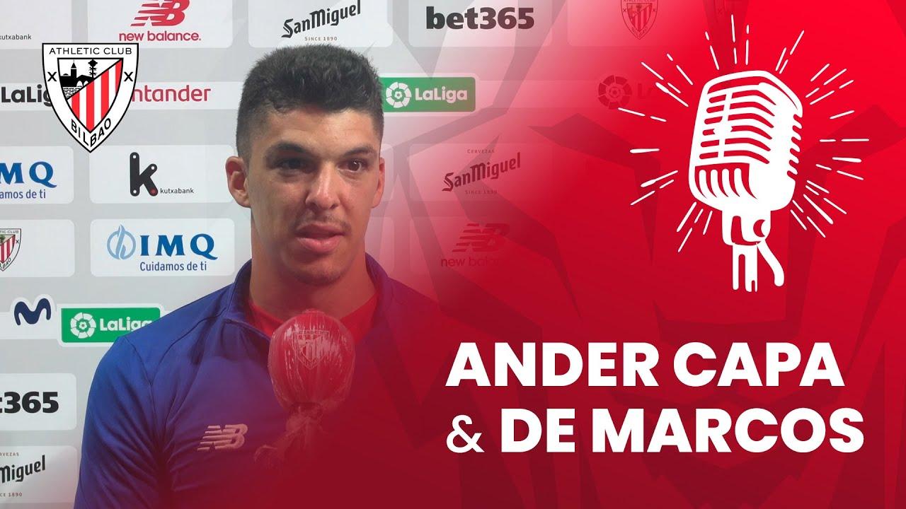 🎙 Ander Capa y Óscar de Marcos | post Athletic Club 1-2 Sevilla FC | J35 LaLiga 2019-20