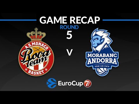 Highlights: AS Monaco - MoraBanc Andorra