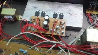 Fix lỗi ù khó chịu khi chưa bật nhạc trong lắp ráp âm ly bằng phương pháp nối mass đúng cách