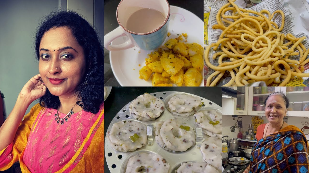 Health Is Wealth / Amma Feels I am Her Mom & Mom in Law / Snacks