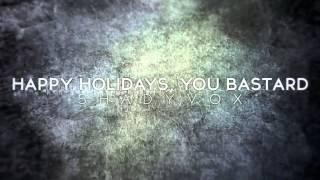 Happy Holidays, You Bastard (Blink-182 Cover) - ShadyVox