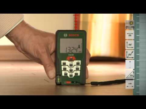 Training film: bosch laser measure plr 50 youtube