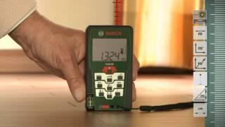 Laser Entfernungsmesser Diy : Training film bosch laser measure plr boschdiypowertoolsuk