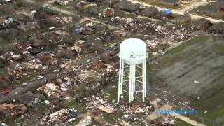Raw Video: Aerial view of tornado damage in Rowlett(Raw Video: Aerial view of tornado damage in Rowlett. (G. J. McCarthy/The Dallas Morning News), 2015-12-28T18:22:40.000Z)