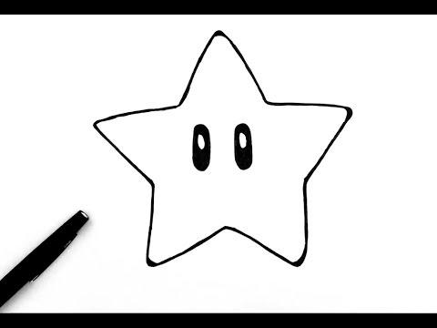 Access youtube - Comment dessiner une star ...