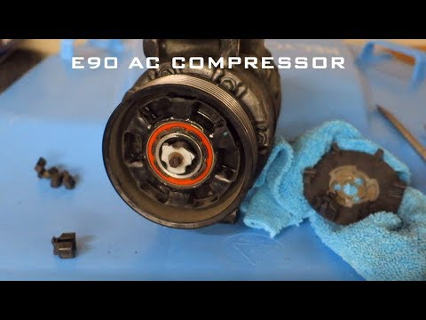 bmw-e90-n54-ac-compressor-diy