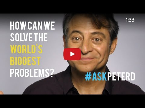 How can we solve the world's biggest problems?