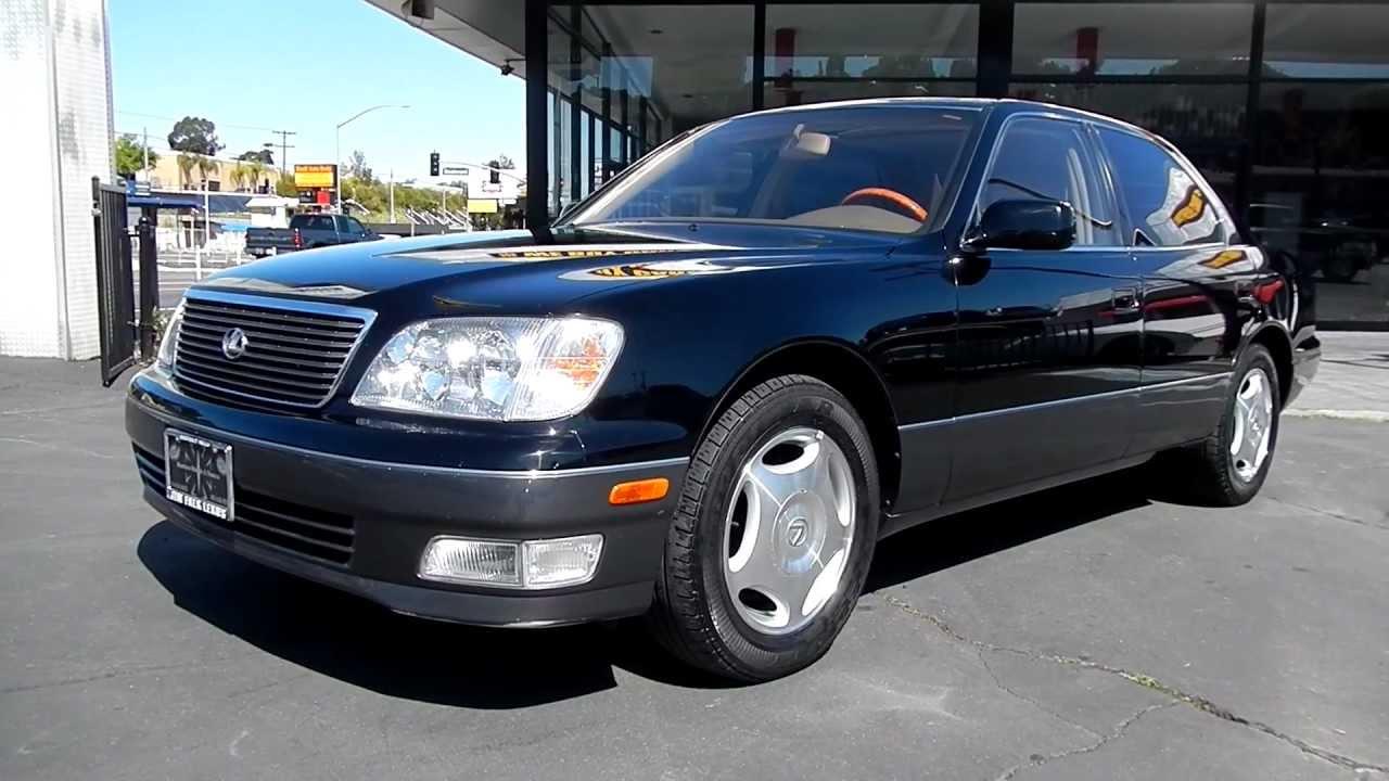 1999 Lexus Ls400 2 Owner 69 000 Orig Mi Black Beauty For Sale Youtube