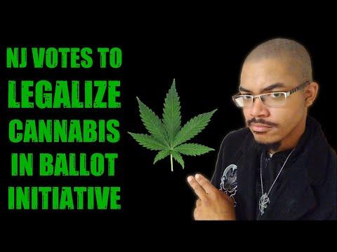 NJ Legalizes Cannabis In Ballot Measure