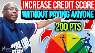 Increase Credit Score Fast! How To Increase Credit Score 200pts in 30 days! Remove Collections ASAP!