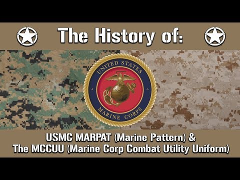 The History Of: The US Marine Corps MARPAT Camouflage Pattern & The MCCUU | Uniform History