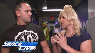 Breezango try to get Tye Dillinger's strategy for the Battle Royal: SmackDown LIVE, July 4, 2017