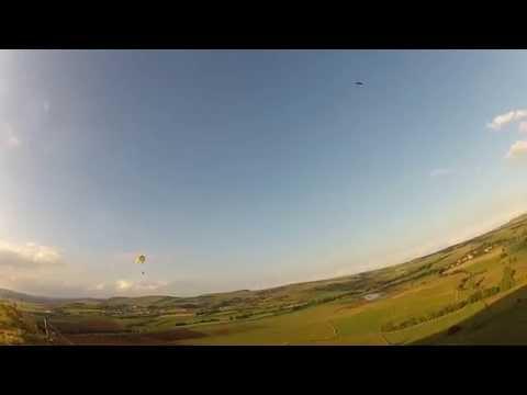 RC Paragliding FLAIR a la pente , poids 3 kg