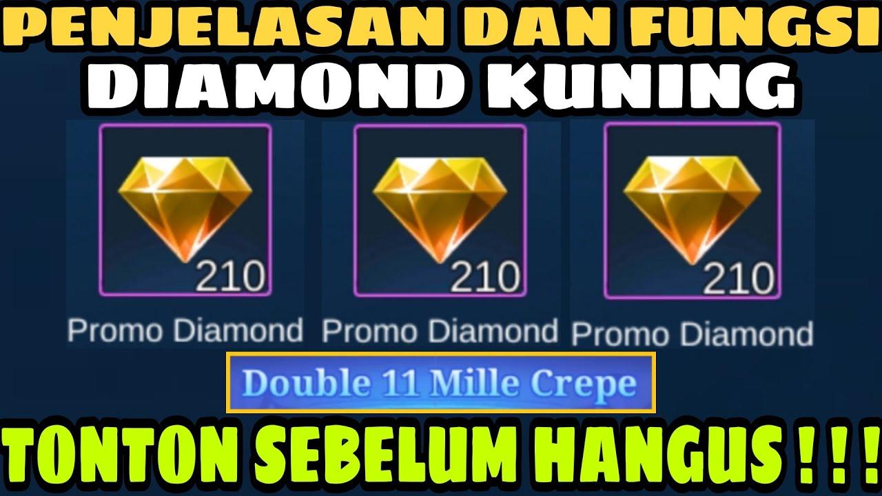 Penjelasan Tentang Diamond Kuning Promo Diamond Cara Menggunakan Promo Diamond Mille Crepe Mlbb Youtube