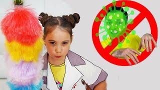 Аня и папа почему в доме появилась Бактерия?