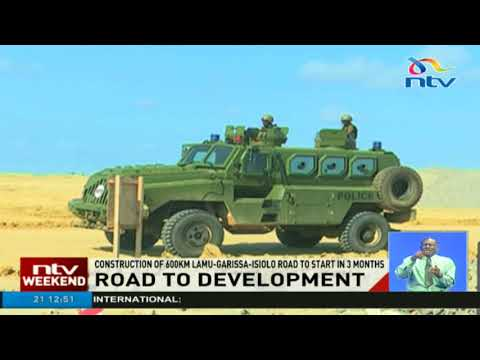 Construction of 600KM Lamu-Garissa-Isiolo road to start in 3 months